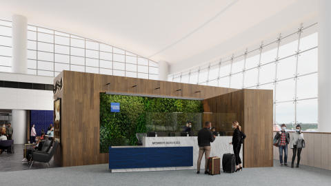American Express to Expand Its Centurion Lounge at Seattle-Tacoma Internaitonal Airport (Photo: Business Wire)