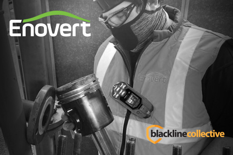 Enovert, based in the United Kingdom, joins Blackline Collective to share best practices related to data-driven insights and gas detection (Photo: Business Wire)