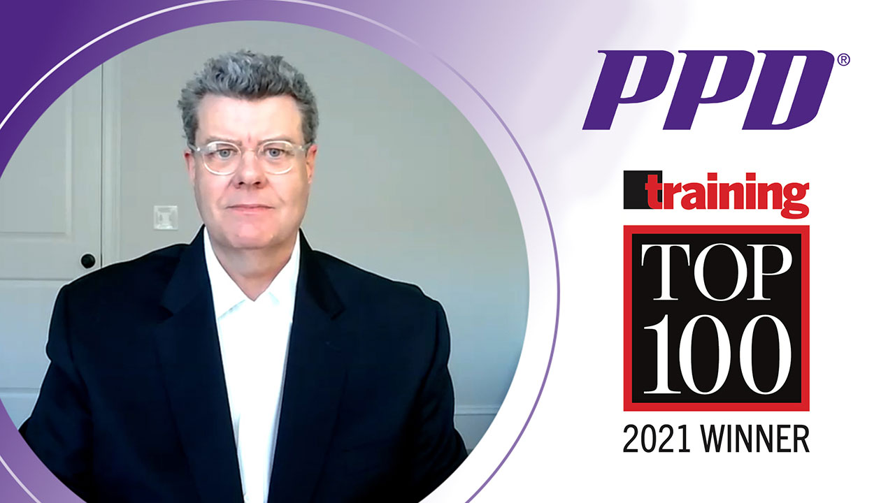 Jay Dixon, senior vice president of quality and enterprise learning, reflects on PPD being named to Training magazine's 2021 Training Top 100 list for the 10th year in a row.