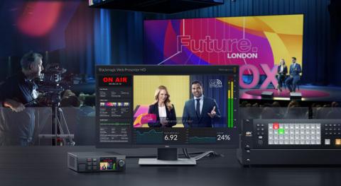 Blackmagic Web Presenter HD (Photo: Business Wire)