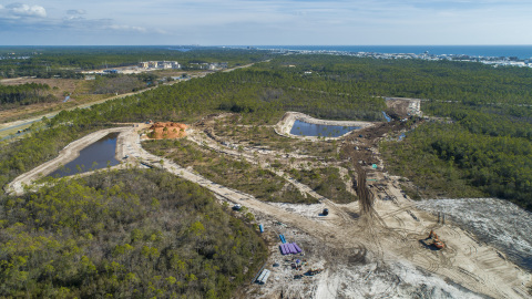 The Watersound Camp Creek community is ideally located in close proximity to the Gulf of Mexico and the famed Scenic Highway 30A corridor. (Photo: Business Wire)