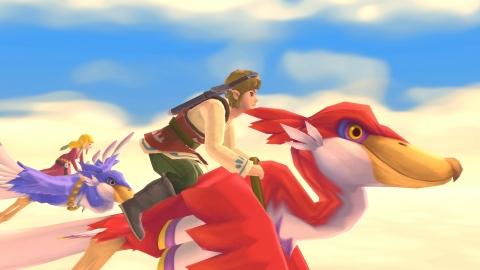 Originally released in 2011 for the Wii system, and depicting the earliest story in the series' timeline – as well as the creation of the Master Sword itself – The Legend of Zelda: Skyward Sword game now arrives on Nintendo Switch with smoother and more intuitive controls, in addition to improved framerate and graphics. (Graphic: Business Wire)