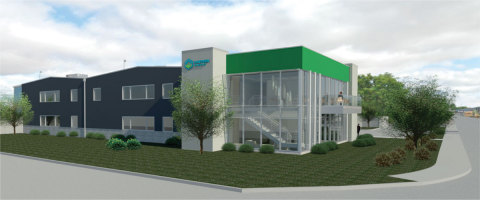 Eugene, OR-based Cascade Chemistry initiated construction of a $14 million facility to significantly increase its cGMP pharmaceutical manufacturing capacity. (Photo: Business Wire)