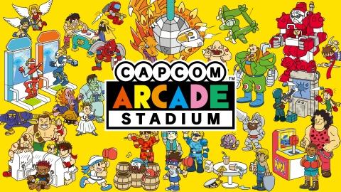 Dozens of Capcom's most beloved arcade classics are on Nintendo Switch as part of Capcom Arcade Stadium. (Graphic: Business Wire)
