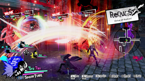 Join the Phantom Thieves and strike back against the corruption overtaking cities across Japan in Persona 5 Strikers. (Graphic: Business Wire)