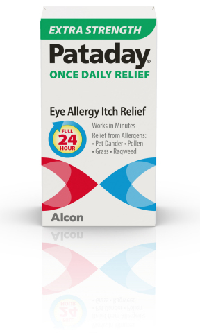Pataday Once Daily Relief Extra Strength now available in select U.S. stores and online retailers (Photo: Business Wire)