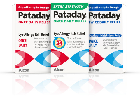 Pataday Once Daily Relief Extra Strength joins Alcon's portfolio of #1 selling OTC eye allergy relief products (Photo: Business Wire)