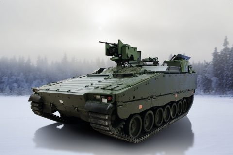 BAE Systems received an order from the Norwegian Army for 12 engineering and eight multi-carrier variants of the CV90 Infantry Fighting Vehicle to increase the combat power of its existing fleet. Photo credit: BAE Systems