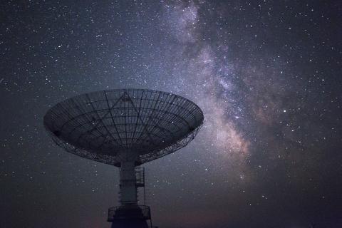 SATCOM antenna © Getty Images