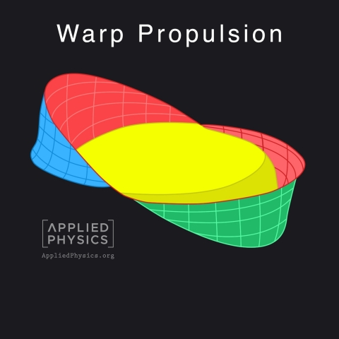Warp Bubble | www.AppliedPhysics.org (Photo: Business Wire)