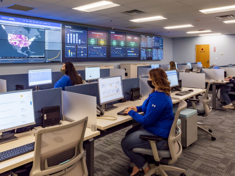 Established amid the Covid-19 pandemic, the PartsSource Command Center is used to identify frequently stocked out products and dynamically manages guaranteed stock for PartsSource Pro members to promote supply chain reliability and resilience.