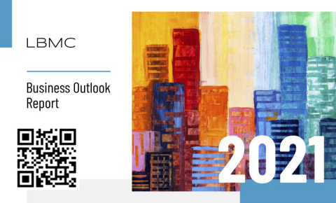 What's top of mind for businesses in 2021? LBMC's Business Outlook Report addresses this question and offers insight into business trends, challenges, and levels of optimism across seven major industries in the U.S. (Photo: Business Wire)