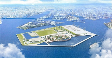 EXPO 2025 birds eye view (Graphic: Business Wire)