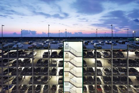 APCOA parking garage (Photo: Business Wire)