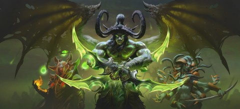 Return to Outland to face Illidan the Betrayer in Blizzard Entertainment's World of Warcraft: Burning Crusade Classic, coming later this year. (Graphic: Business Wire)