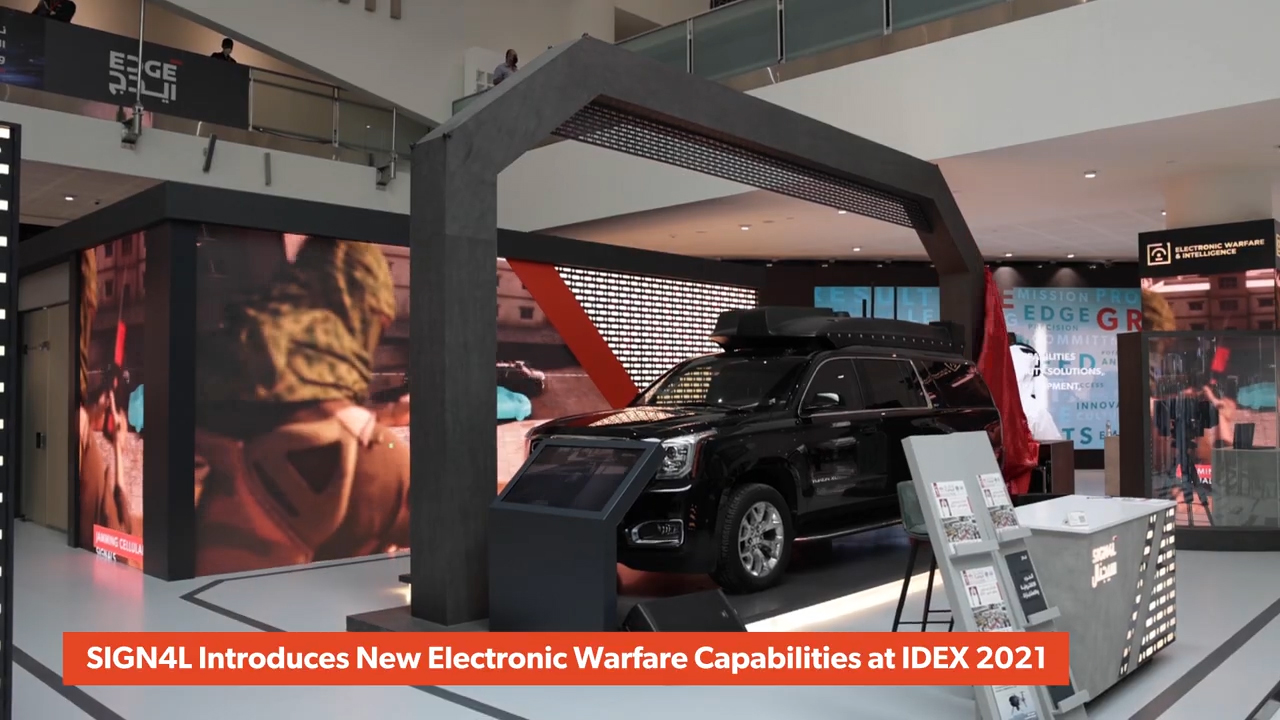 SIGN4L Introduces New Electronic Warfare Capabilities at IDEX 2021 (Video: AETOSWire)