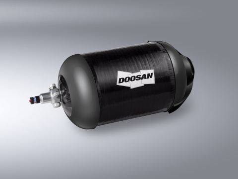 Doosan Mobility Innovation Hydrogen Tank (Photo: Business Wire)
