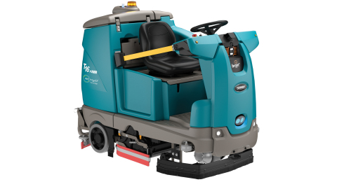 T16AMR: The first industrial robotic cleaning machine (Photo: Tennant Company)
