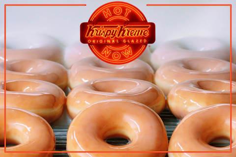 KRISPY KREME® Offering $5 Original Glazed® Dozens Starting Feb. 22 when Iconic Hot Light is Glowing (Photo: Business Wire)