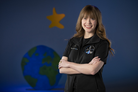 Hayley Arceneaux, physician assistant at St. Jude Children's Research Hospital and pediatric cancer survivor, to fill Hope seat on historic Inspiration4 flight. (Photo: Business Wire)