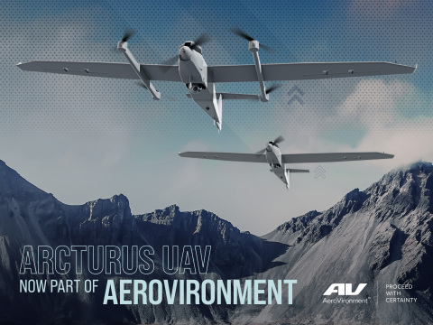 AeroVironment completes acquisition of Arcturus UAV (Photo: Business Wire)