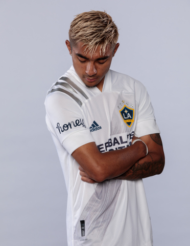 LA Galaxy jerseys will feature Honey logo on their right sleeves during the upcoming 2021 MLS season (Photo: Business Wire)