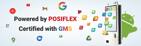 Powered by POSIFLEX, Certified with GMS (Graphic: Business Wire)