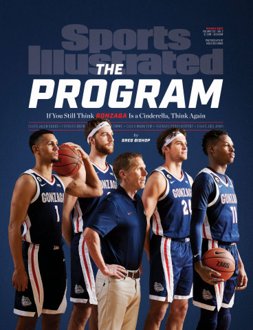 Sports Illustrated's March issue featuring the Gonzaga Bulldogs hits newsstands Feb. 23 (Photo: Business Wire)