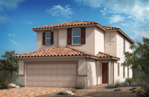 KB Home announces the grand opening of Landings and Reserves at Desert Skies, two new-home communities in popular Southwest Las Vegas. (Photo: Business Wire)