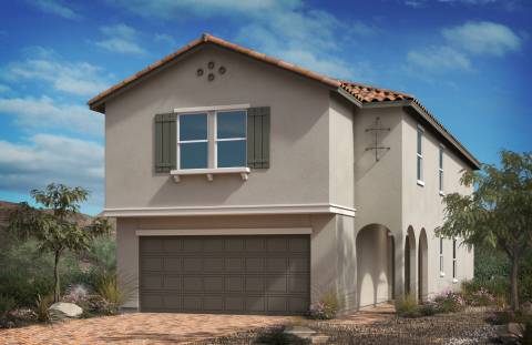 KB Home announces the grand opening of Bremerton, its latest new-home community in Northwest Las Vegas. (Photo: Business Wire)