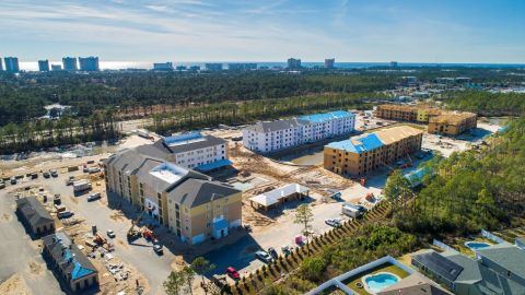 Sea Sound Apartments in Panama City Beach, Florida is planned for 300 apartment units. (Photo: Business Wire)