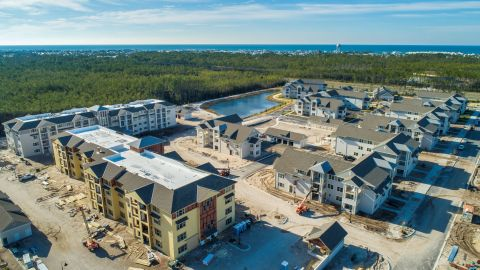 Construction continues at Watersound Origins Crossings apartment community. (Photo: Business Wire)