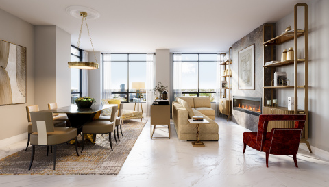 Solmar launches downtown Mississauga's largest new Penthouse Collection at Edge Towers. (Photo: Business Wire)