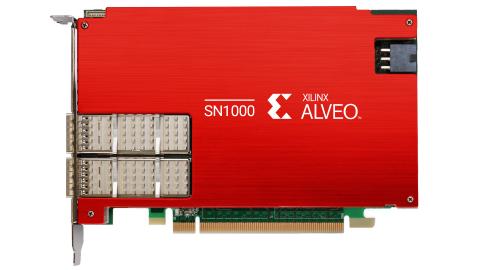 Xilinx Alveo SN1000 SmartNIC (Photo: Business Wire)