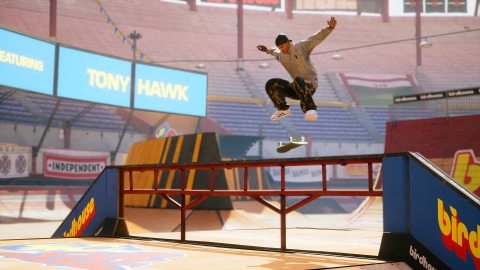Tony Hawk's™ Pro Skater™ 1 and 2 is a faithful remaster of the first two iconic games in the franchise, blending all the original levels, pro-skaters and old-school tricks with new talent, an expanded soundtrack and beautifully recreated levels. (Graphic: Business Wire)
