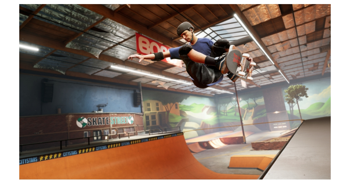 Tony Hawk's Pro Skater 1 and 2 makes its way to PlayStation 5 and Xbox Series X|S on March 26 and lands on Nintendo Switch for the first time in 2021.
