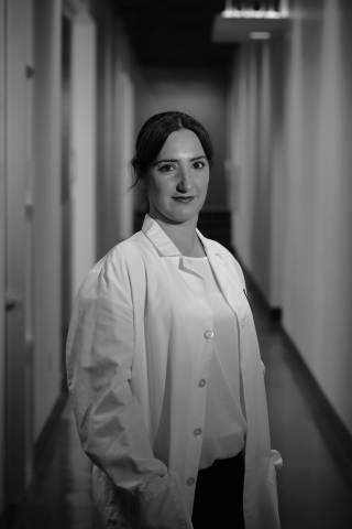Dr. Christine Ichim, CEO of Florica Therapeutics, Inc. at her lab located at MBC Biolabs in San Francisco. Photo credit Forty-Tree Foto.