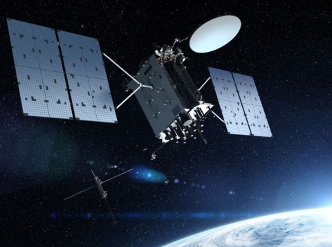 Lockheed Martin, the prime contractor for GPS III/IIIF, selected L3Harris in 2018 to design and build the first two fully-digital MDUs, the heart of the satellite's navigation payload. The MDU generates more powerful GPS signals and assures clock operations for GPS users. (Photo: Business Wire)