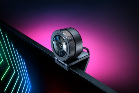Introducing the Razer Kiyo Pro – a webcam that delivers high-fidelity video broadcasts. (Graphic: Business Wire)