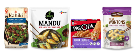 CJCJ Food, Americas is creating a complete portfolio for retailers to build-out their frozen Asian-style food offerings in freezer aisles. (Photo: Business Wire)