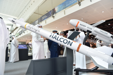 SkyKnight - the first UAE designed and manufactured counter-rocket, artillery, and mortar (C-RAM) missile system - (Photo: AETOSWire)
