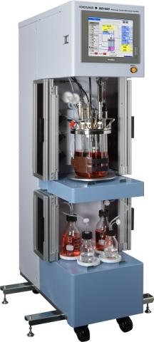 横河電機のアドバンストコントロールバイオリアクターシステム BR1000 (写真:ビジネスワイヤ)