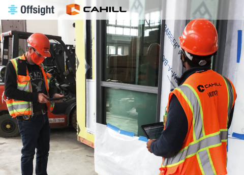 Cahill Contractors uses Offsight's software to manage modular assembly on the factory floor. (Photo: Business Wire)