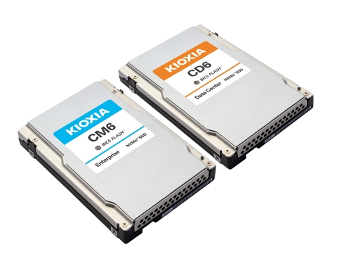 NVMe SSDs from KIOXIA address the demands of enterprise performance requirements, cloud-based data center architectures, and performance-centric and latency-sensitive applications. (Photo: Business Wire)