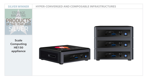 Scale Computing HE150 Appliance (Photo: Business Wire)