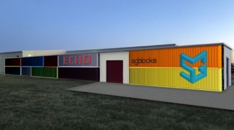 Rendering of the SG Echo Factory site in Durant, Oklahoma. (Photo: Business Wire)