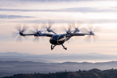 Joby Aviation Aircraft (Photo: Business Wire)
