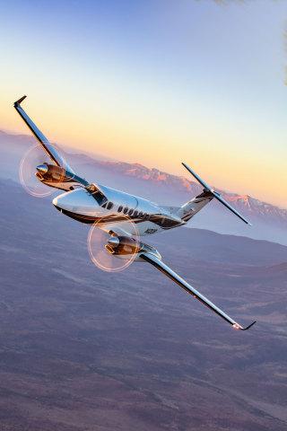 Beechcraft King Air 360 (Photo: Business Wire)