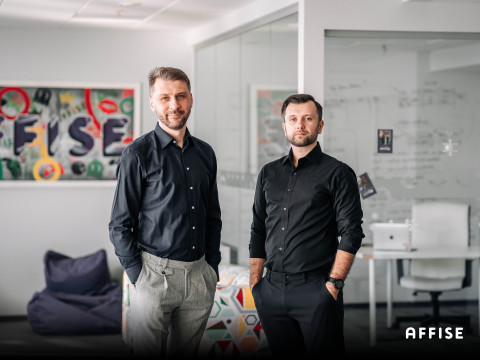 Stanislau Litvinau, CEO at Affise (left) and Dmitrii Zotov, CTO at Affise (right) (Photo: Business Wire)