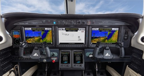 Autoland is the world's first certified system of its kind with the ability to activate during an emergency situation to autonomously control and land an aircraft without human intervention. (Photo: Business Wire)